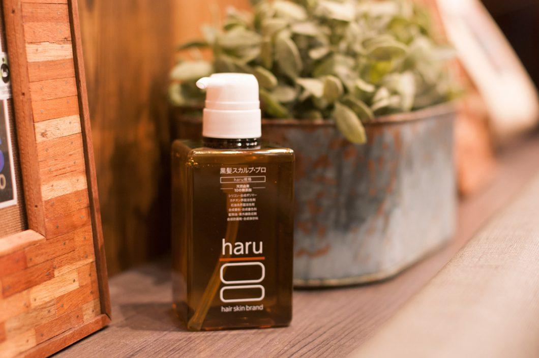 haru(ハル)黒髪スカルプ・プロ